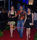 Bhushan kumar with divya and sister tulsi at Rock On Premiere in IMAX Wadala on 28th August 2008 .JPG