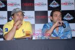 Bobby Deol and Sunny Deol promote Chamku at Cinemax Thane on 28th August 2008 (22).JPG