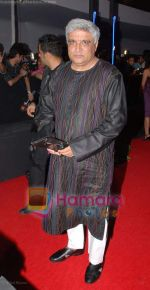 Javed akhtar at Rock On Premiere in IMAX Wadala on 28th August 2008.JPG