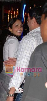 isha with bf timmy narang at Rock On Premiere in IMAX Wadala on 28th August 2008.JPG
