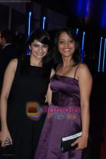 prachi desai and sahana goswami at Rock On Premiere in IMAX Wadala on 28th August 2008 (59).JPG