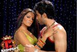 Celina Jaitley, Tusshar Kapoor in a still from C Kkompany (14).jpg