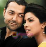 Priyanka Chopra, Bobby Deol in still from the movie Chamku (4).jpg