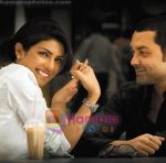 Priyanka Chopra, Bobby Deol in still from the movie Chamku (5).jpg