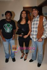 Bali Brahmabhatt, Sunil Pal, Meghna Naidu at Arshi is back album launch in Andheri on 1st September 2008 (12).JPG