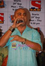 Baba Sehgal at Jugni Chali Jalandar new serial from Sab launch in Sony TV office on 17th September 2008 (2).JPG