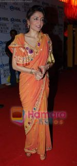 queenie dhody at Pallavi Jaikishan show at the HDIL Couture Week on 19th September 2008.JPG