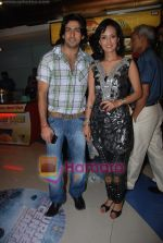 Aslam Khan, Nisha Rawal at the Premiere of Rafoo Chakkar in Fun Republic on 24th September 2008 (74).JPG