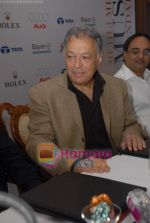 Zubin Mehta at a press conference to announce The Mehli Mehta Music Foundation in Mumbai on 5th october 2008.JPG