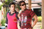 Tusshar Kapoor, Ajay Devgan in the Still from movie Golmal Returns (15).jpg