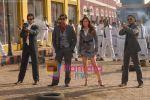 Tusshar Kapoor, Ajay Devgan, Kareena Kapoor, Shreyas Talpade in the Still from movie Golmal Returns (14).jpg