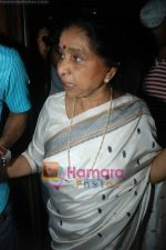 Asha Bhosle record a song together in Spectral Harmony, Mumbai on 10th October 2008 (2).JPG