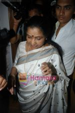 Asha Bhosle record a song together in Spectral Harmony, Mumbai on 10th October 2008 (18).JPG