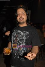 musician siddharth sharma at the Blue Frog Studio Lounge hosted by Carlsberg Beer in Mumbai on 11th october 2008.jpg