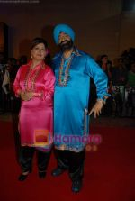 Jaspal and Savitha Bhatti at Nach Baliye 4 red carpet in Malad on 13th October 2008 (2).JPG