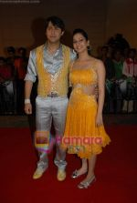 Sudip Sahir and Anantika Sahir at Nach Baliye 4 red carpet in Malad on 13th October 2008 (4).JPG