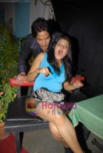 Rajveer Sharma, Megha Chatterjee at actor Rajveer_s birthday in Paradise Rain Forest on 14th October 2008 (9).JPG