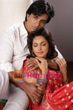Sonu Sood, Isha Koppikar at Ek Vivaah Aisa Bhi Movie wallpaper (6).jpg