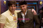 Sunny Deol, Bobby Deol in the Still from movie Heroes (4).JPG
