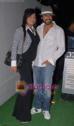 shamita with aashish chaudhry at the poison Relaunch Bash on 16th October 2008  (2).JPG