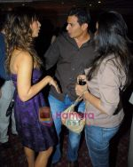 Kim Sharma with her boyfriend at Arjun Khanna bash in Trident on 22nd October 2008 (6).JPG