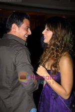 Kim Sharma with her boyfriend at Arjun Khanna bash in Trident on 22nd October 2008 (9).JPG