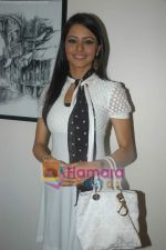 Aamna Shariff at Aloo Chaat press meet in Blue Waters on 1st November 2008 (28).JPG