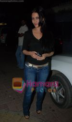 Riya Sen at Yuvvraaj special screening in globus on 20th November 2008(2).JPG