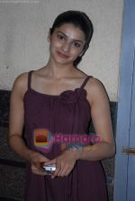 Prachi Desai at President is Coming premiere in Fame Adlabs on 26th November 2008(53).JPG