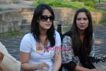 Tulip Joshi, Kim Sharma at peace march protest in Mantralaya on 2nd December 2008(9).JPG