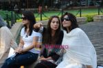 Tulip Joshi, Kim Sharma, Queenie Dhody at peace march protest in Mantralaya on 2nd December 2008(2).JPG