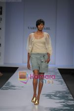 Model walk the ramp for Varun Bahl at Wills Fashion Week.JPG