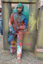 Adhyayan Suman On Location of Mahesh Bhatt_s film Jashn in Mukesh Mills on 7th December 2008 (3).JPG