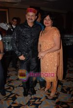 Mir Ranjan Negi with wife at Nandini Jumani live Show in Leela Hotel on 10th December 2008 (2).JPG