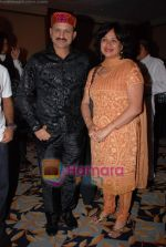 Mir Ranjan Negi with wife at Nandini Jumani live Show in Leela Hotel on 10th December 2008 (4).JPG