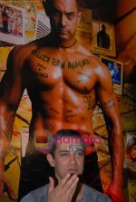 Aamir Khans six pack secret in Ghajini revealed with trainer Satya in Barbarian Gym on 14th December 2008 (44).JPG