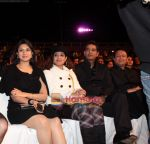 divyanka tripathi  tanaaz irani  anoop soni and kiran karmarkar at Gold Awards 2008 in Dubai on 21st December 2008(Large).jpg
