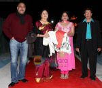 kuku kohli  aruna irani nisha with prem sagar at Gold Awards 2008 in Dubai on 21st December 2008(Large).JPG