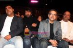 ram kapoor  shabbir ahluwalia  ravi behl and naved jaffery at Gold Awards 2008 in Dubai on 21st December 2008(Large).JPG