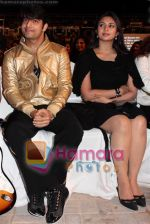 sharad malhotra and divyanki tripathi at Gold Awards 2008 in Dubai on 21st December 2008(Large).JPG