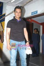 Aamir Khan at exclusive screening of Ghajini in PVR on 24th December 2008 (4).JPG