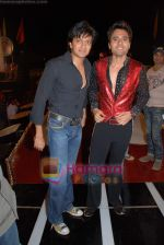 Ritesh Deshmukh, Jackie Bhagnani at the launch of Vashu Bhagnani_s son - Jackie in Film City on 24th December 2008 (3).JPG