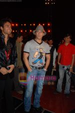 Salman Khan at the launch of Vashu Bhagnani_s son - Jackie in Film City on 24th December 2008 (4).JPG