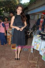 Monica Bedi celebrates her birthday with kids in Mahalaxmi on 25th December 2008 (24).JPG