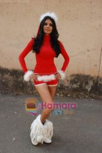 Sherlyn Chopra spends Christmas with kids in Bombay Central on 25th December 2008 (38).JPG
