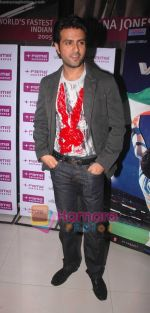 Harman Baweja at Ghatkopar Fame to promote film Victory on 26th Dec 2008 (8).jpg
