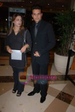 Jimmy Shergill with wife Priyanka at the V Shantaram Award Ceremony in JW Marriott on 26th Dec 2008 (2).JPG