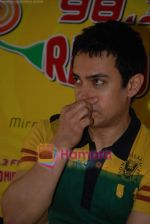 Aamir Khan on the sets of Radio Mirchi 98.3 FM in Mahalaxmi on 27th December 2008 (16).JPG