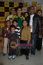 Aamir Khan on the sets of Radio Mirchi 98.3 FM in Mahalaxmi on 27th December 2008 (3).JPG