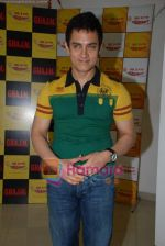 Aamir Khan on the sets of Radio Mirchi 98.3 FM in Mahalaxmi on 27th December 2008 (50).JPG